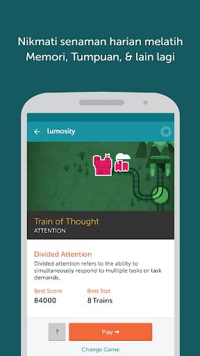 Lumosity - Latihan Otak screenshot 2