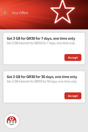 أنا فودافون (قطر) My Vodafone (Qatar) 3 تصوير الشاشة