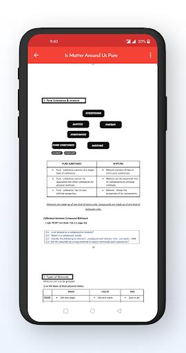 Class 9 Notes Offline screenshot 4