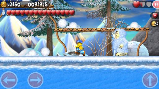 Incredible Jack: القفز والجري 3 تصوير الشاشة