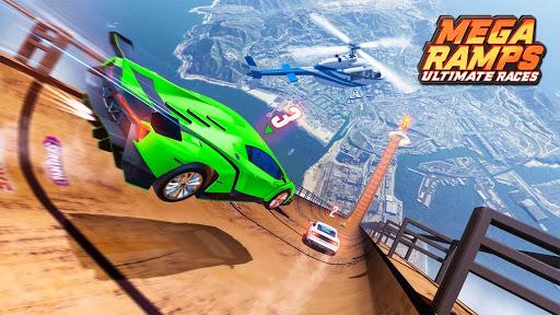 Mega Rampe Car Stunt: Autorennspiele Offline 2021 screenshot 2