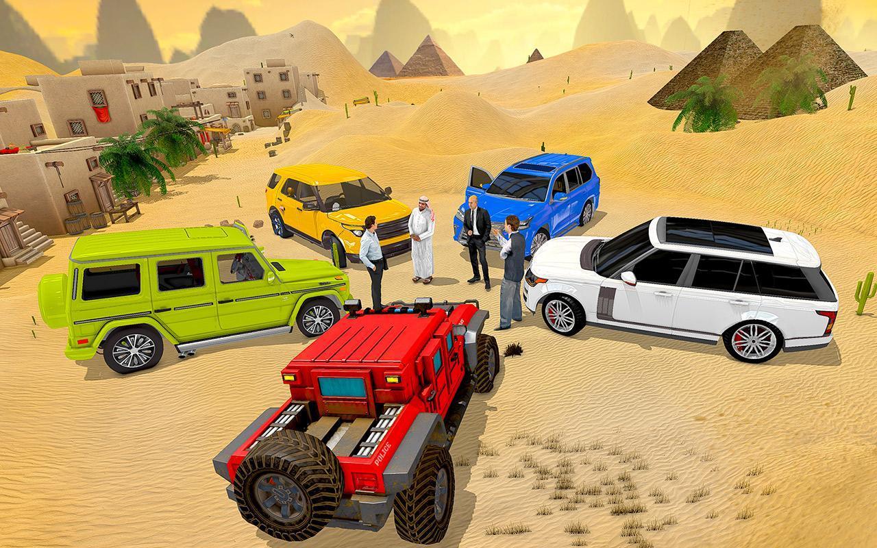 Luxury LX Prado Desert Driving screenshot 4