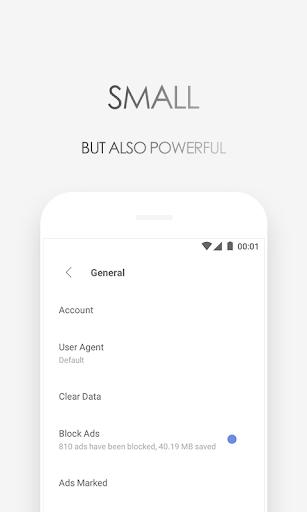 Browser Via – Cepat & Ringan screenshot 4