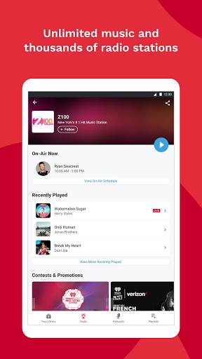 iHeartRadio: Radio, Podcasts & Music On Demand 11 تصوير الشاشة