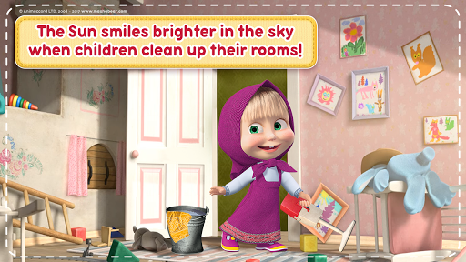 Masha and the Bear: House Cleaning Games for Girls screenshot 3