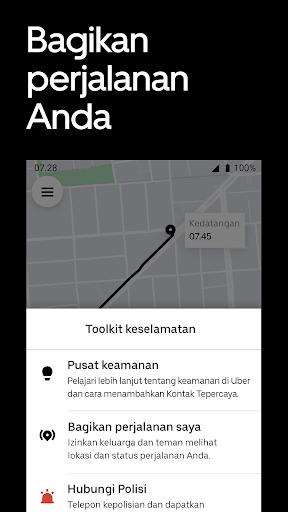 Uber - Pesan perjalanan screenshot 5