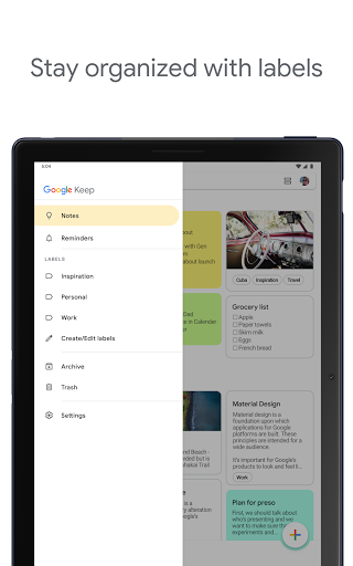 Google Keep - Notes and Lists screenshot 12