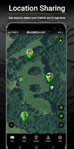 BaseMap: Hunting Maps, Offline Nav/GPS & Weather screenshot 5