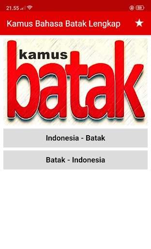 Kamus Bahasa Batak Indonesia Lengkap screenshot 2