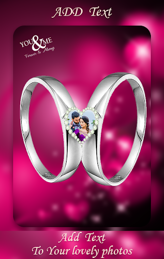 Lovely Ring Photo Frames : Love Couple Rings screenshot 3