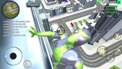 Rope Frog Ninja Hero - Strange Gangster Vegas screenshot 6