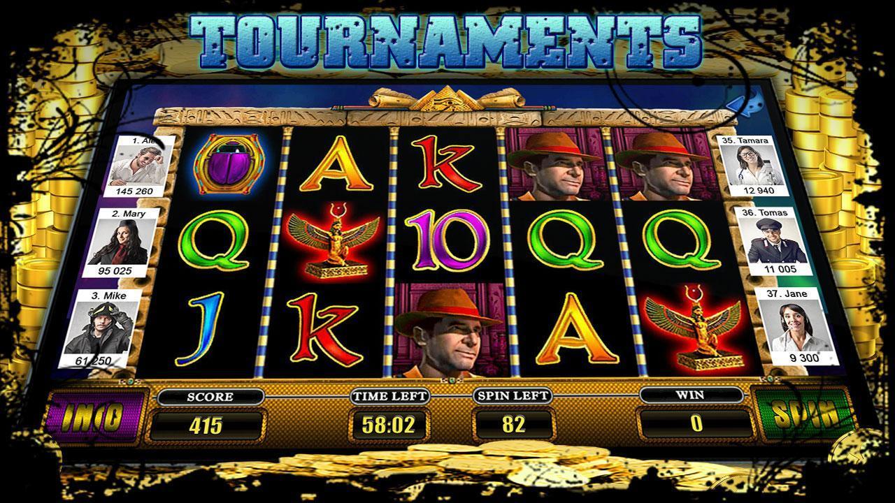 Slot Egyptian Treasures 3 تصوير الشاشة