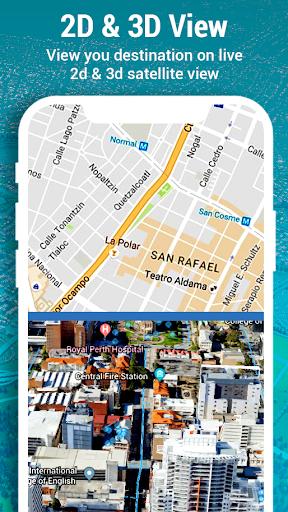 Street View - Panorama 3D Live camera Speedometer screenshot 6