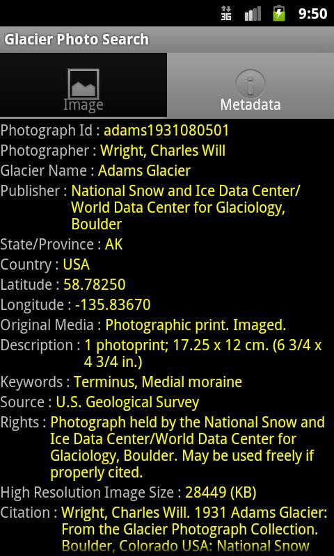Glacier Photo Collection screenshot 4