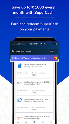 BHIM UPI, Money Transfer, Recharge & Bill Payment скриншот 5