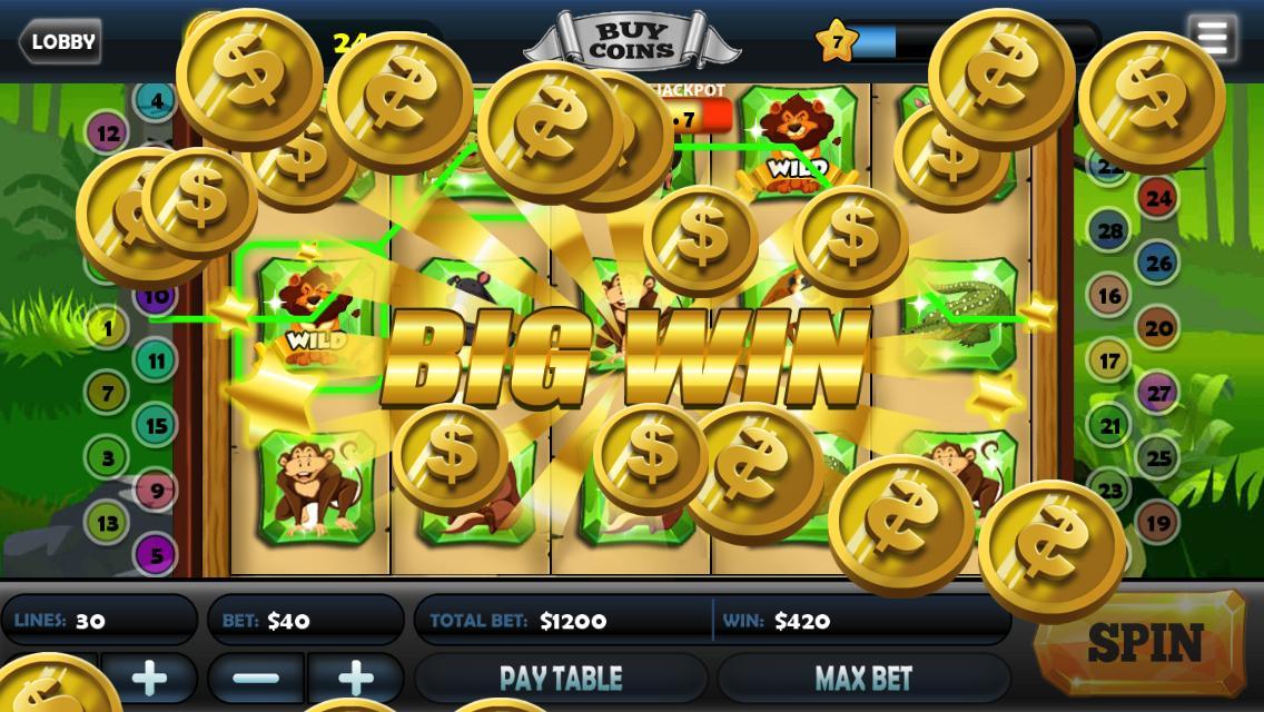 Mega Lucky Win Vegas Slots 4 تصوير الشاشة
