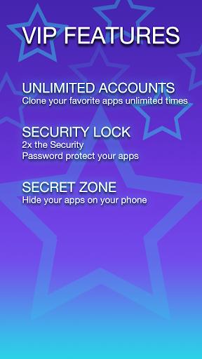 2Accounts - Dual Space & Dual Apps screenshot 4
