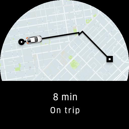 Uber - Заказ поездки скриншот 11