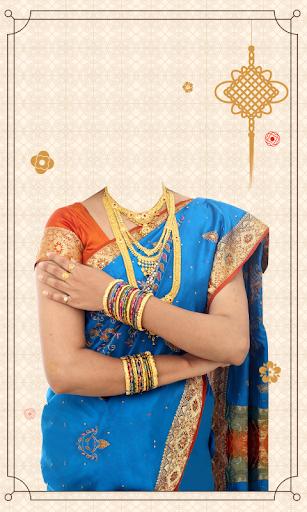 Photo Editor & Photo Frames: Women Saree Photo 8 تصوير الشاشة