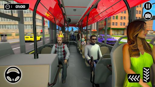 الباص ألعاب ٢١ : مدينة مدرب حافلة القيادة محاكاة 2 تصوير الشاشة
