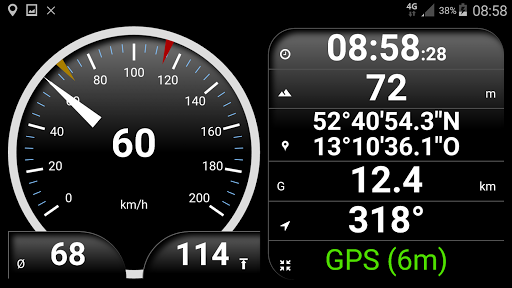 Speedometer analog, digital with odometer and HUD screenshot 6