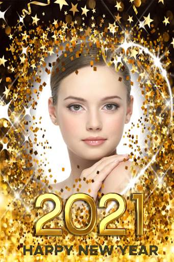 New year photo frame 2021 screenshot 7