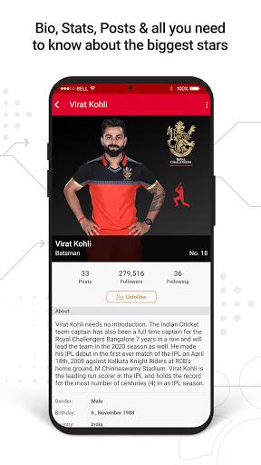 RCB Official- Live Cricket Scores screenshot 4