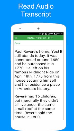 Boston Historical Tours screenshot 6