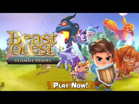 Beast Quest Ultimate Heroes 1 تصوير الشاشة