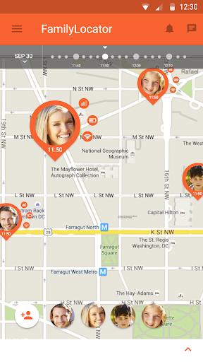 Zoemob Family Locator screenshot 5