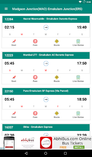 Live Train & Indian Railway PNR Status - IRCTC screenshot 10