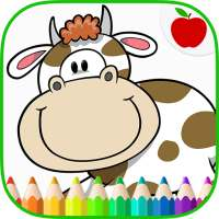Farm Animals Coloring Book on 9Apps