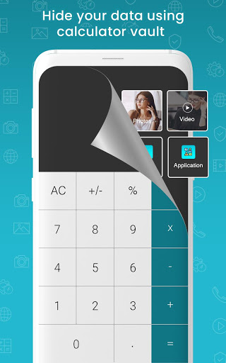 آلة حاسبة - قبو لإخفاء صور فيديو وقفل التطبيقات 13 تصوير الشاشة