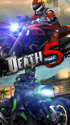 Death Moto 5 : Free Top Fun Motorcycle Racing Game screenshot 4