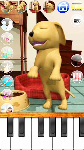 甘い話す子犬:おかしい犬 - Pet Games Free screenshot 7