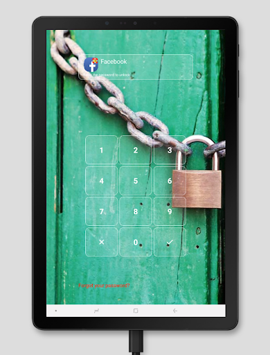 AppLock - Fingerprint 20 تصوير الشاشة