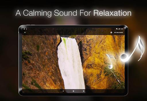 خلفية شلال متحركة 6 تصوير الشاشة
