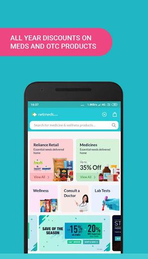 Netmeds - India's Trusted Online Pharmacy App screenshot 3