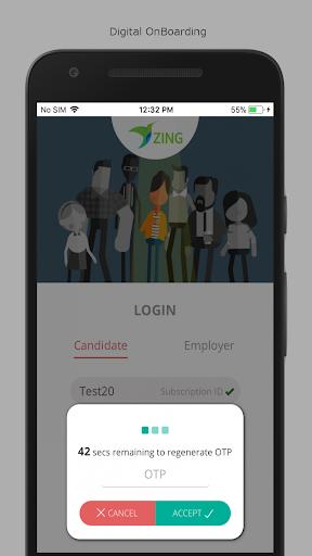ZingHR Onboarding screenshot 2