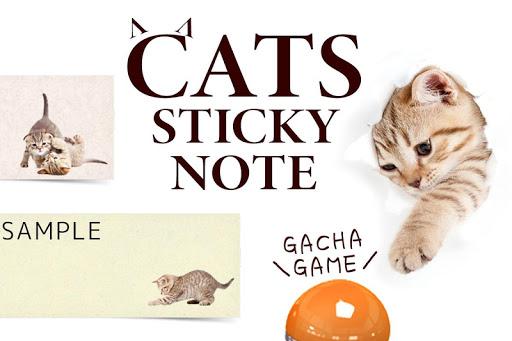 नोटपैड नोट्स : Cat Sticky - बिल्ली screenshot 7