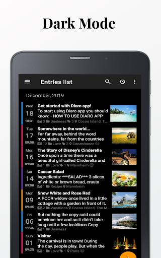 Diaro - Diary, Journal, Mood Tracker with Lock screenshot 8