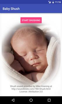 Baby Shush 1 تصوير الشاشة