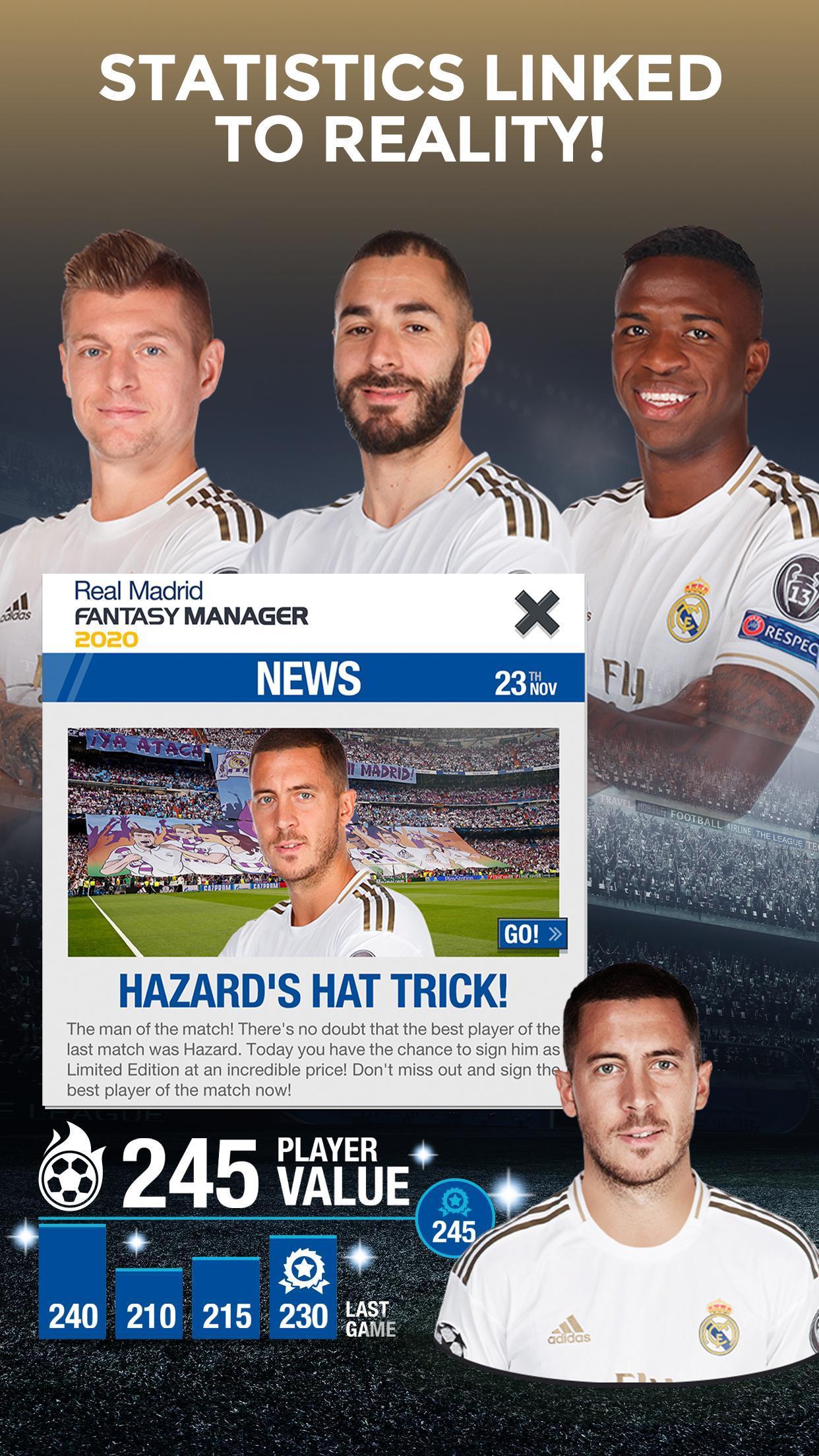 Real Madrid Fantasy Manager'20 Real football live 4 تصوير الشاشة