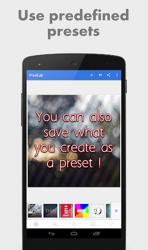 PixelLab - Text on pictures 6 تصوير الشاشة