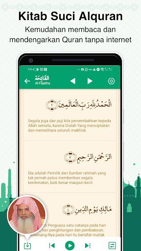 Al Hiwar- Waktu Salat Muslim,Adzan,Qur'an&Kiblat screenshot 5