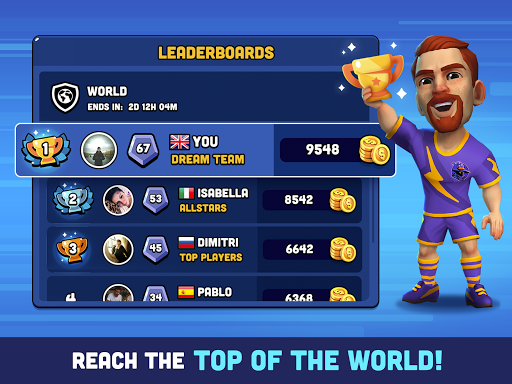 Mini Football - Mobile Soccer screenshot 11
