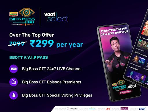 Bigg Boss OTT, Voot Select Originals, Colors TV screenshot 1