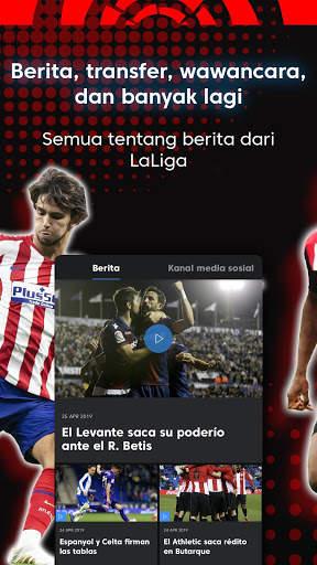 La Liga - Sepak bola dan Hasil Pertandingan screenshot 5