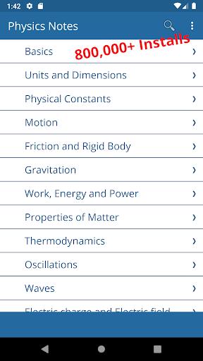 Physics Notes screenshot 8