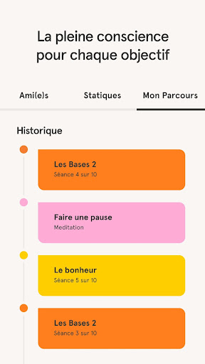 Headspace: Méditation & Sommeil screenshot 3